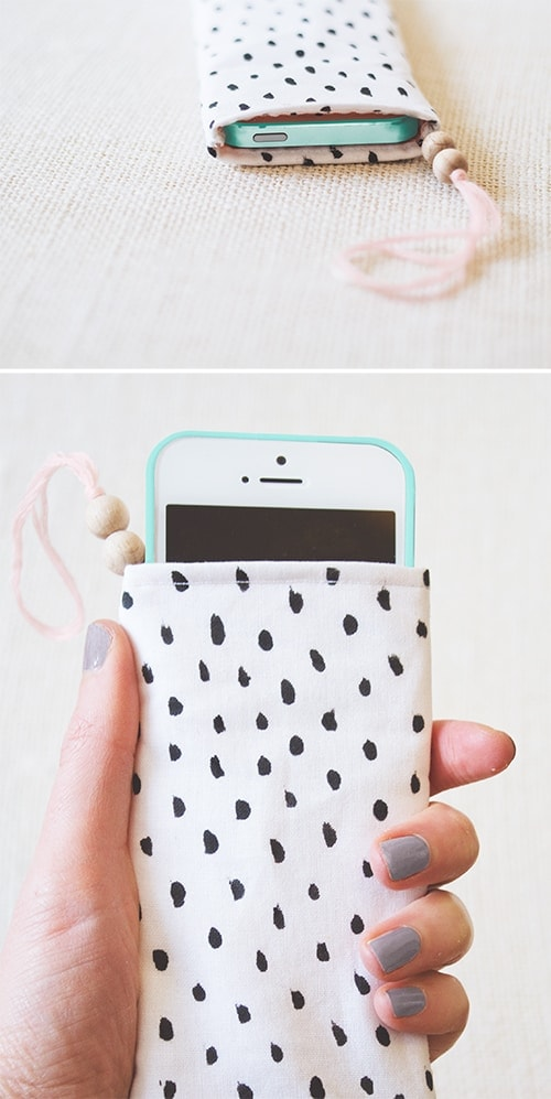printed phone pouch 2