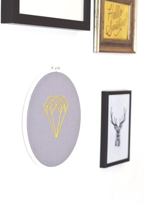 diy embroidery wall art 3