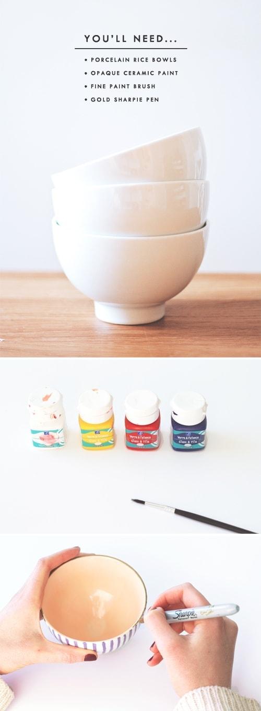 DIY japanese printed bowls 2