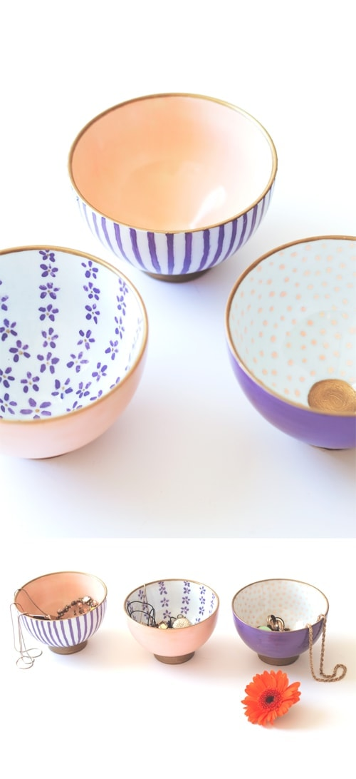 DIY japanese printed bowls 3