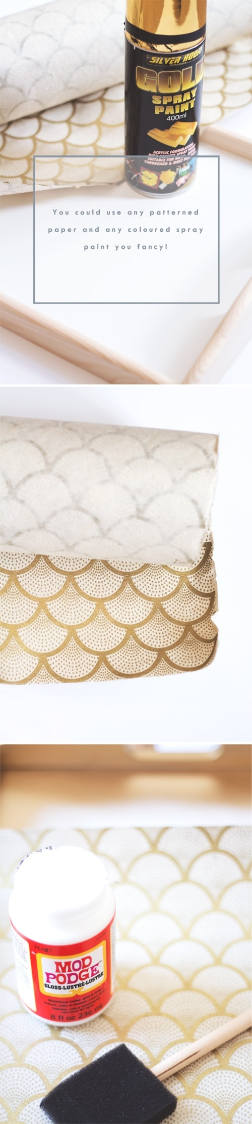 diy patterned tray 2