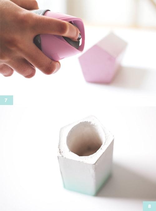 Ombre pen pot 3