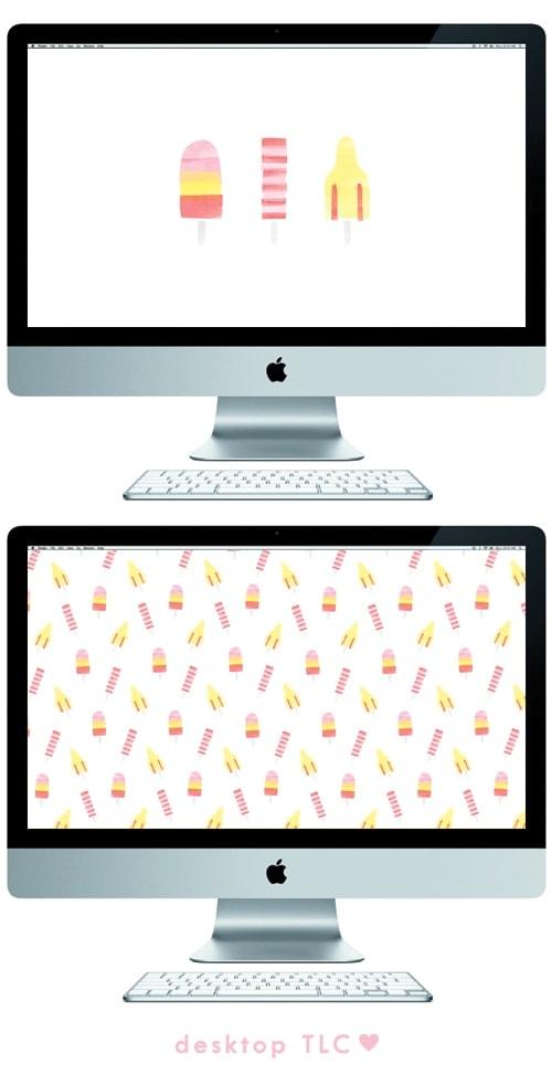 ice lolly desktop