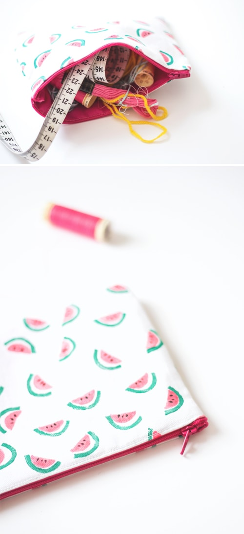 diy zipper purse 2