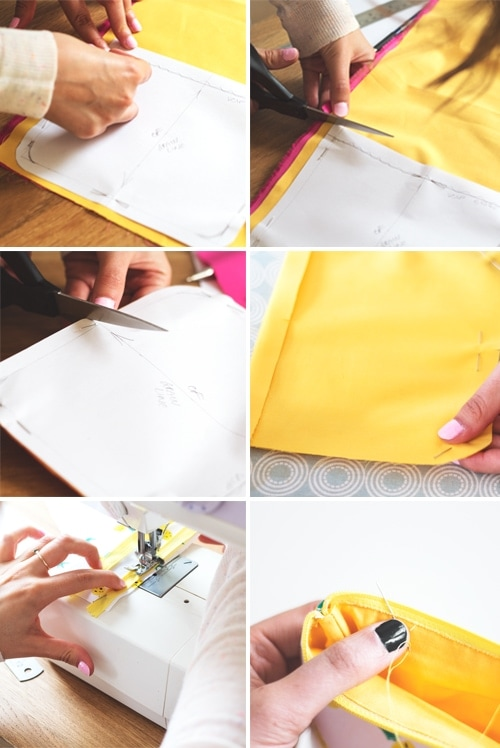 zipper purse instructions 2