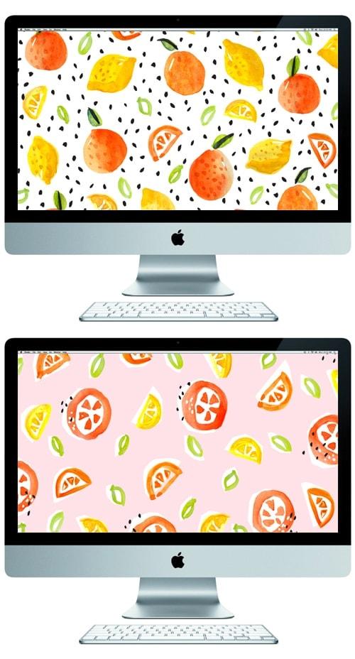 oranges & lemons desktop