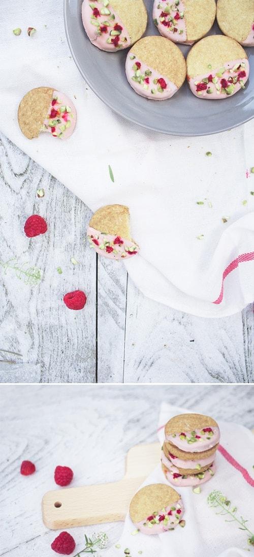 white choc shortbread