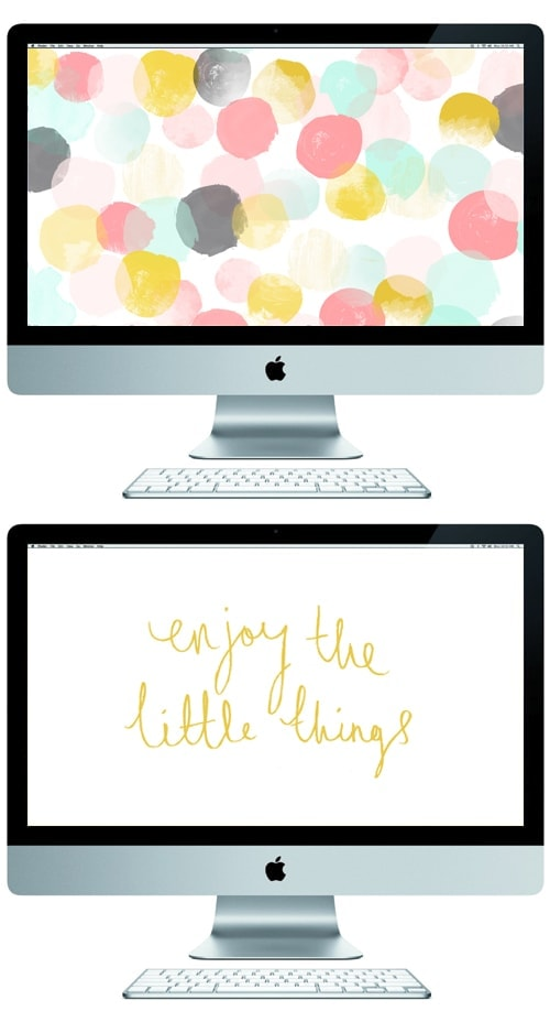 the little things free desktop wallpaper