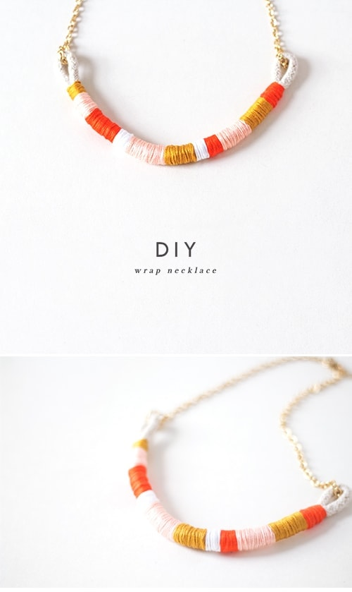diy wrap necklace 1