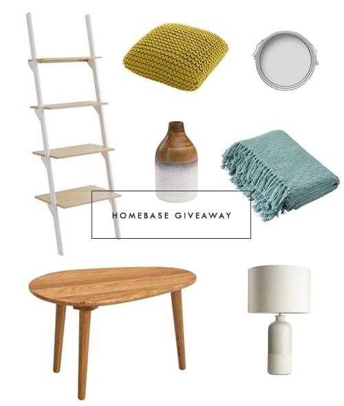 Homebase giveaway