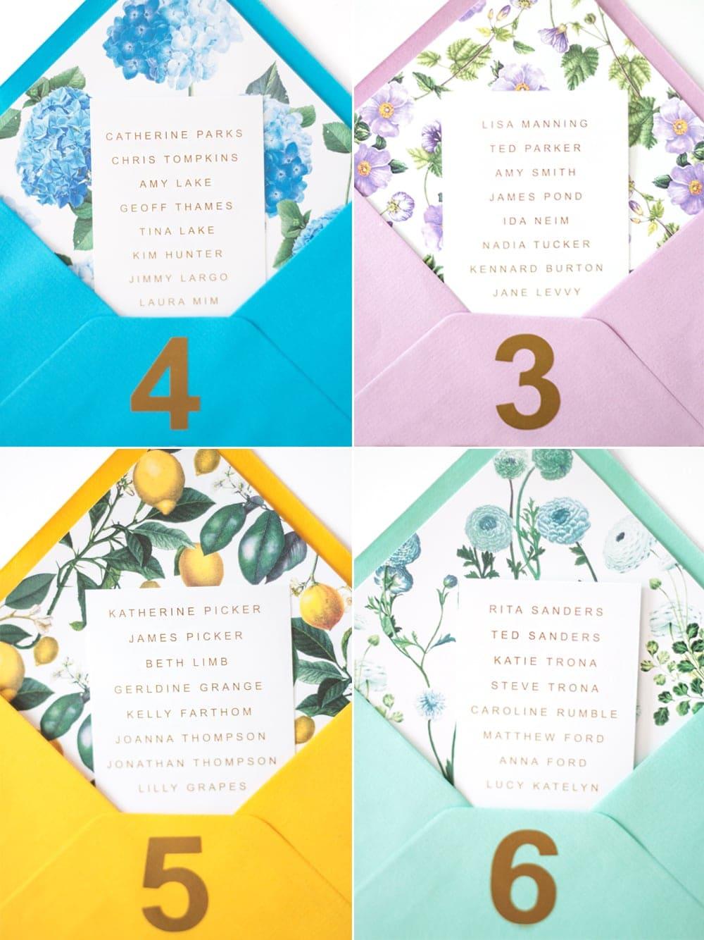 bespoke bride table plan