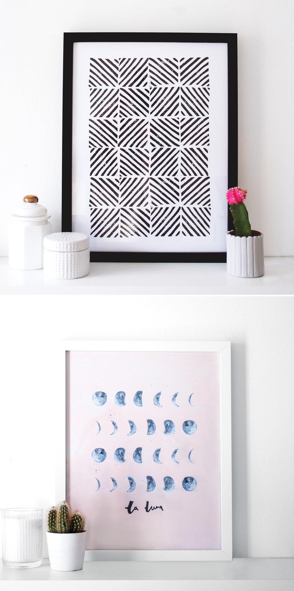 new prints I the lovely drawer