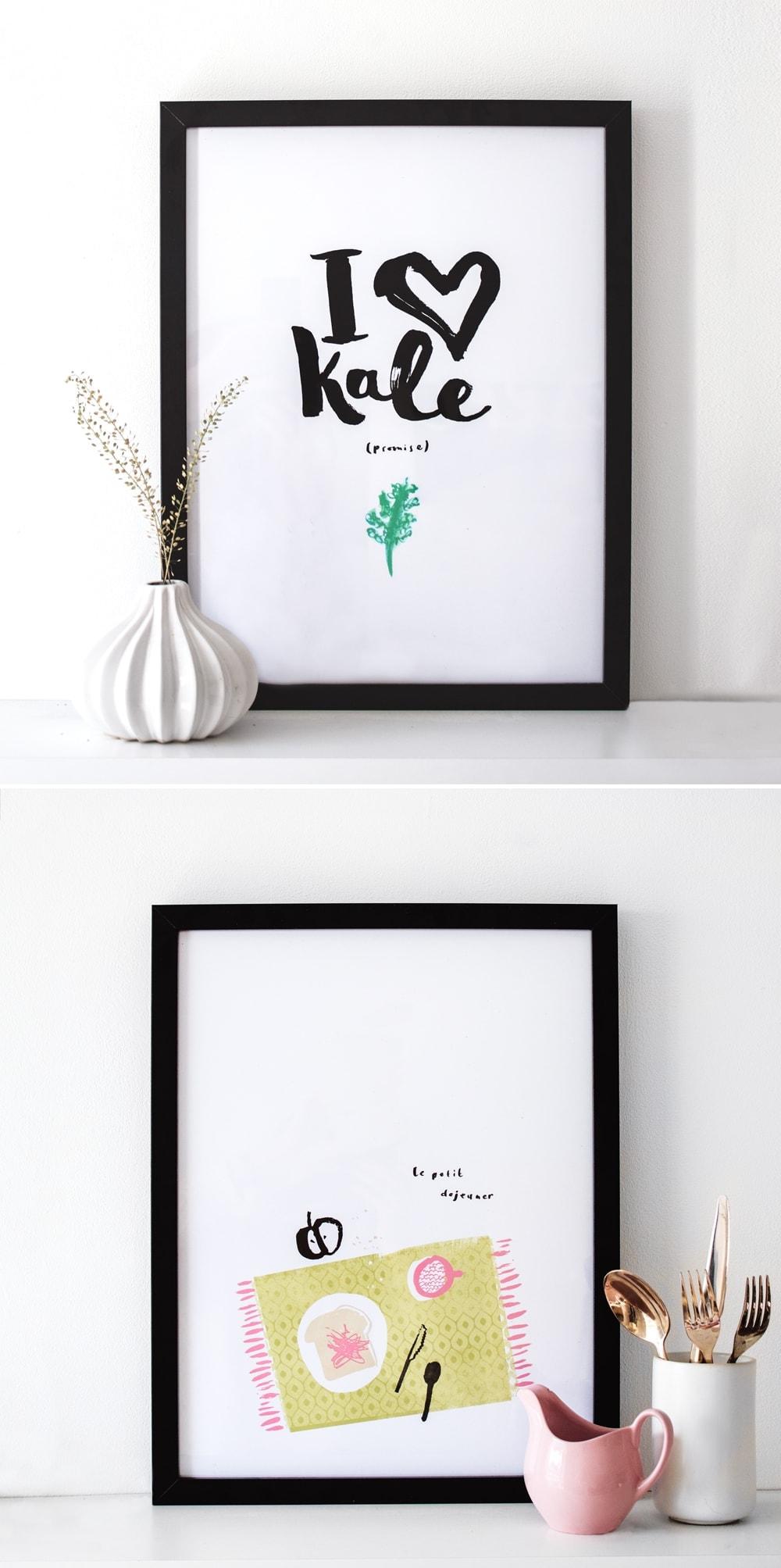 prints I the lovely drawer