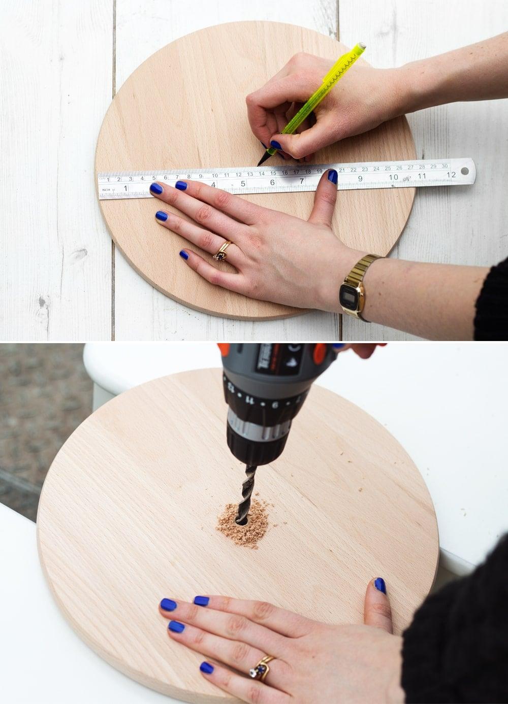 DIY clock process 1