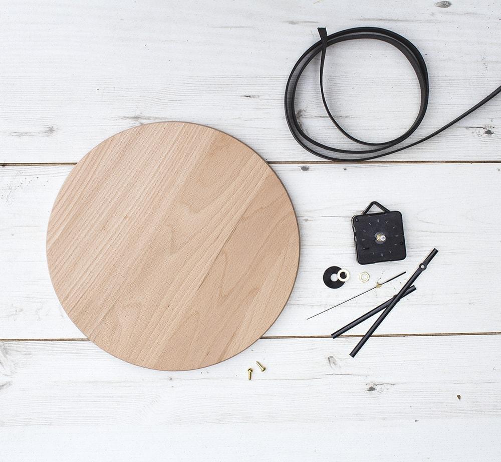 DIY clock process materials