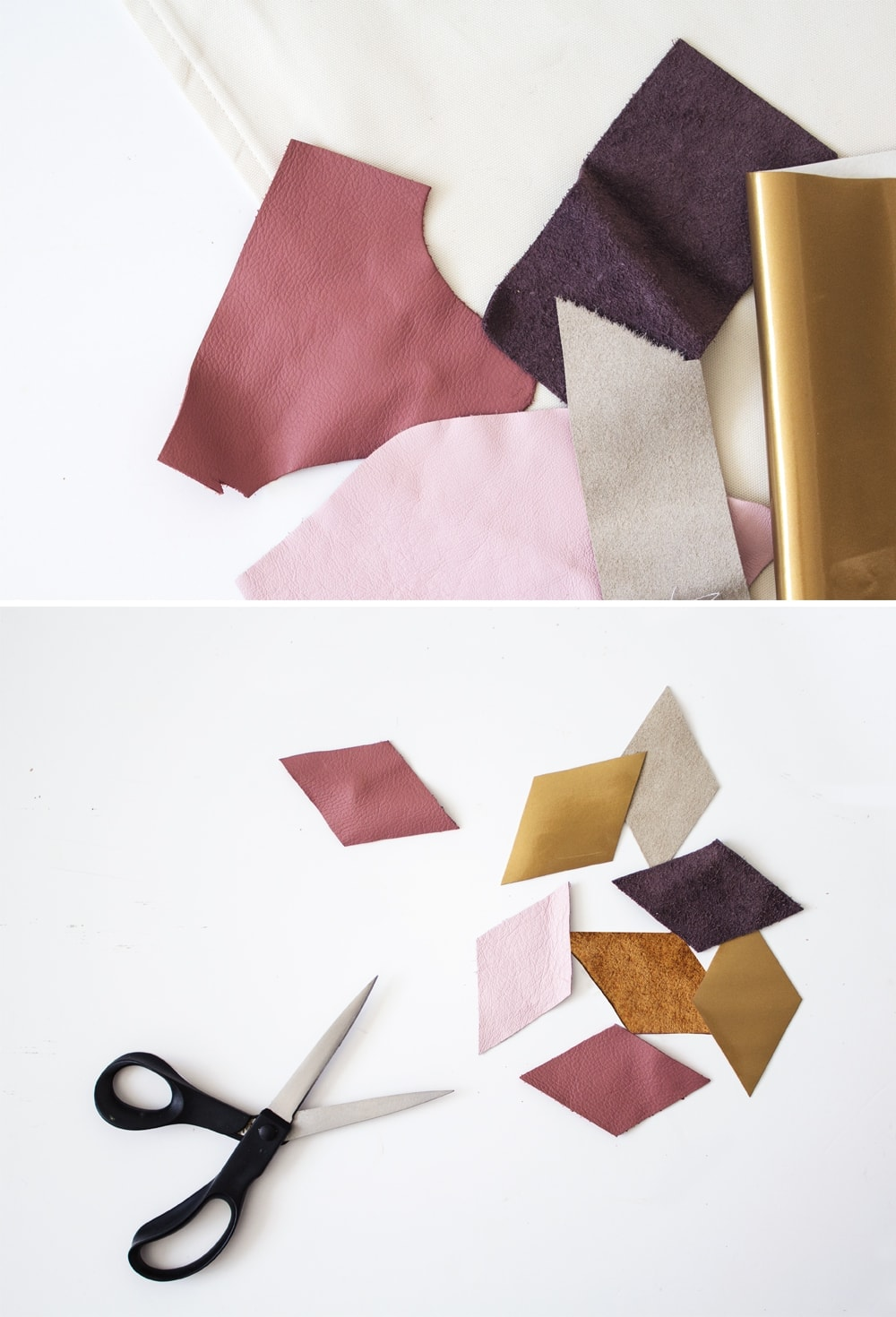 DIY geometric cushion process