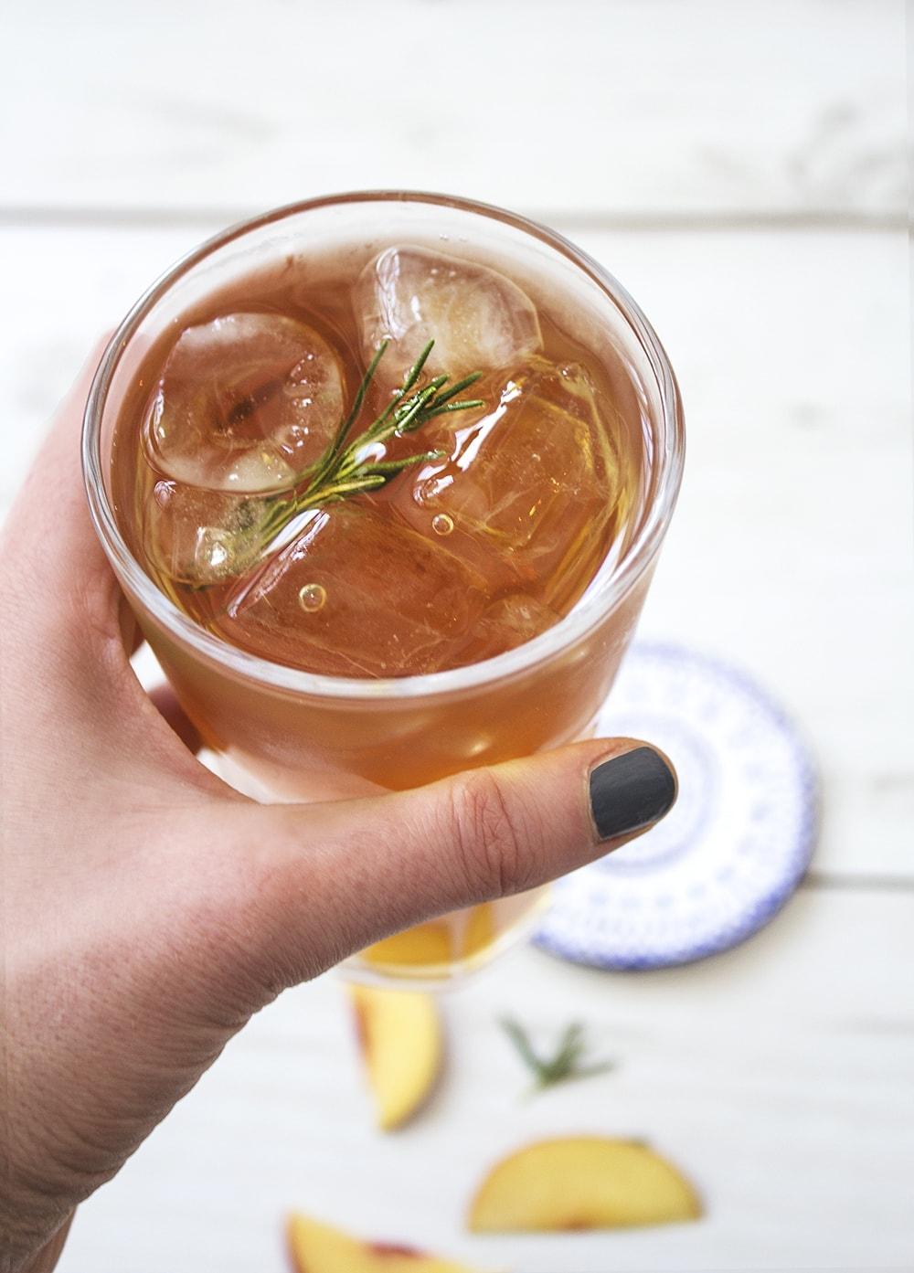 peach lady grey iced tea 2