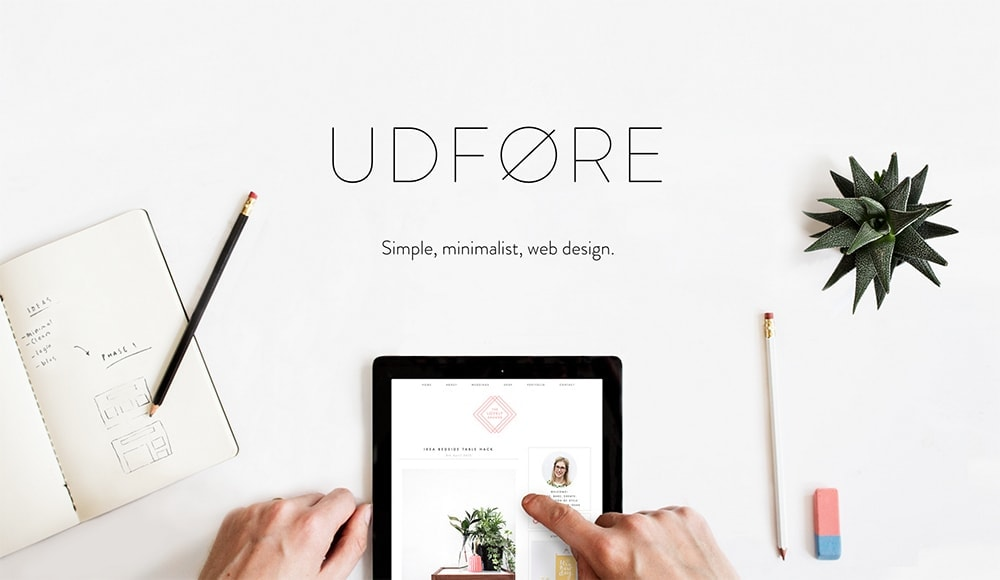 Udfore web design