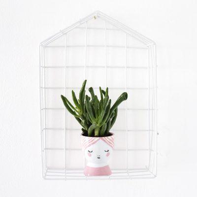 Sugar & Cloth: DIY egg cup planters