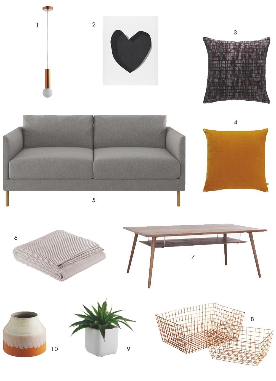 Habitat living room style