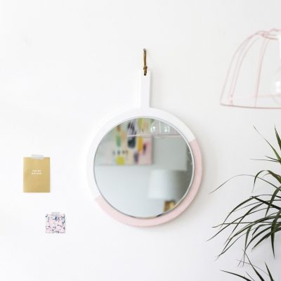 Sugar & Cloth: DIY hanging mirror