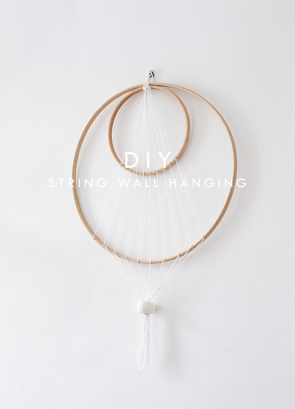 string wall hanging
