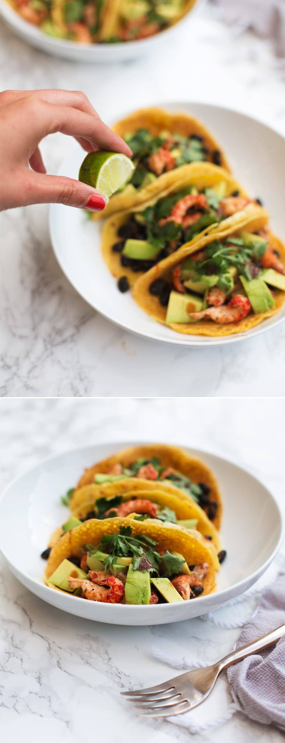 chickpea soft shell tacos V GF SF | the lovely drawer