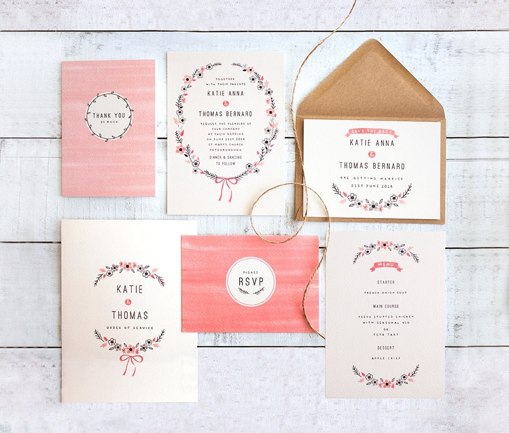 going freelance wedding stationery | the lovely drawer