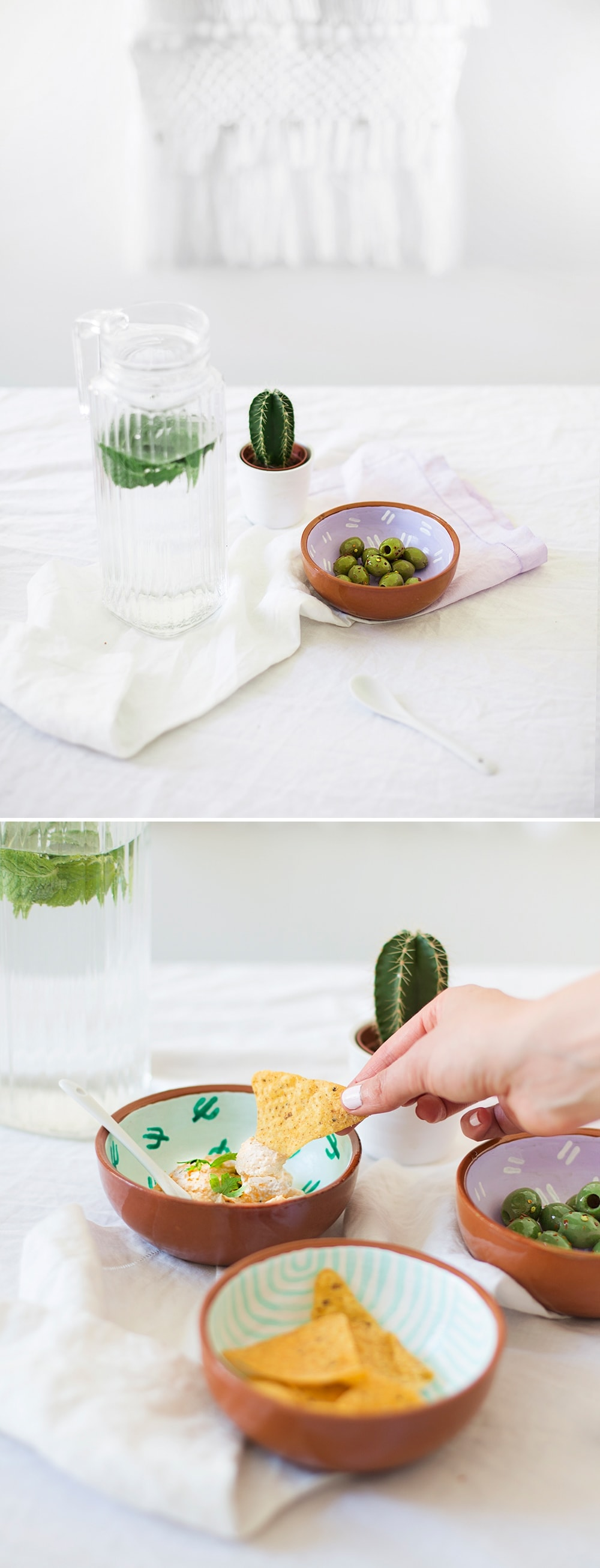 sugar & cloth DIY fiesta bowls