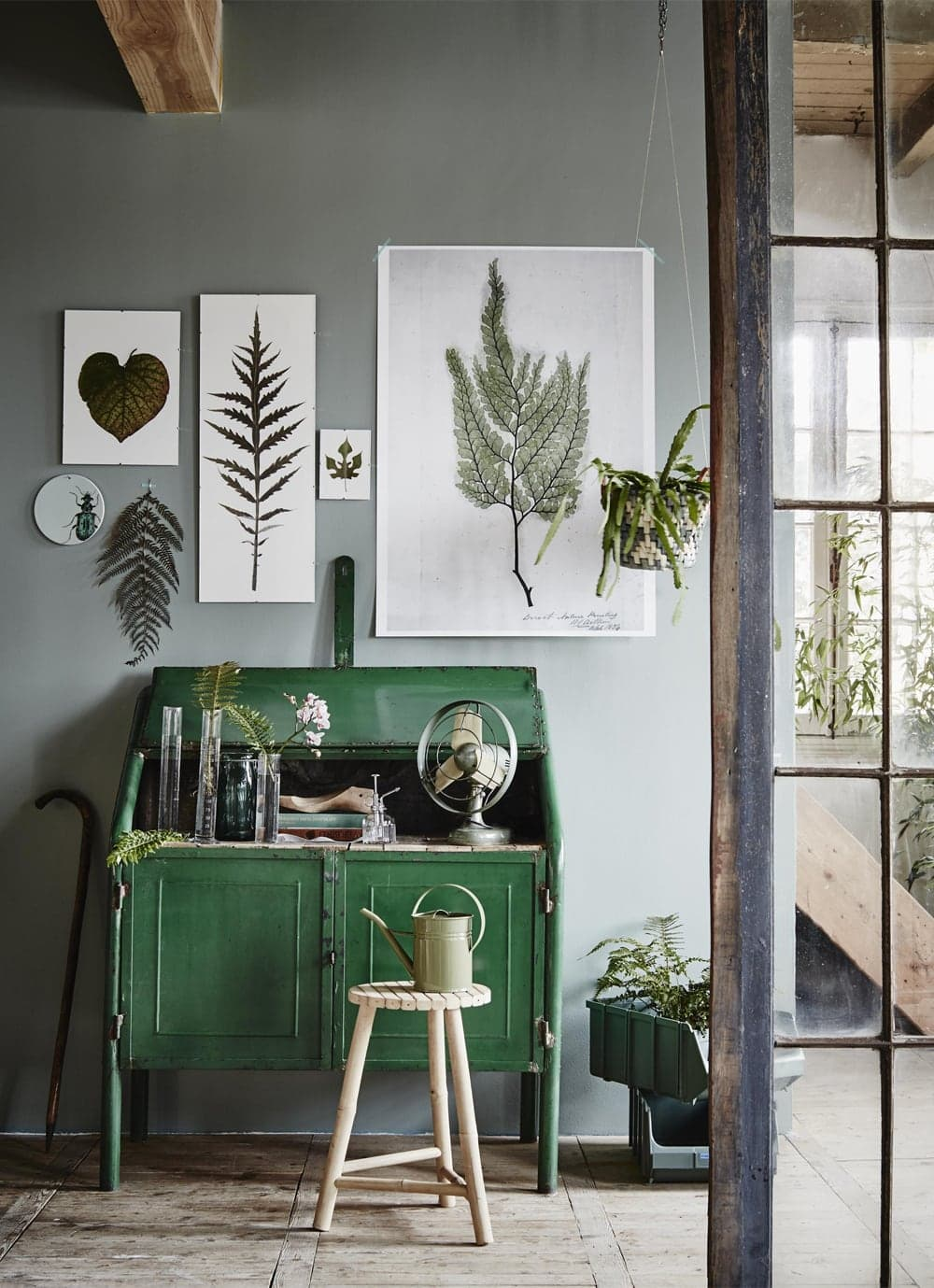 Funky Botanical Wall Decor Inspiration Painting Ideas
