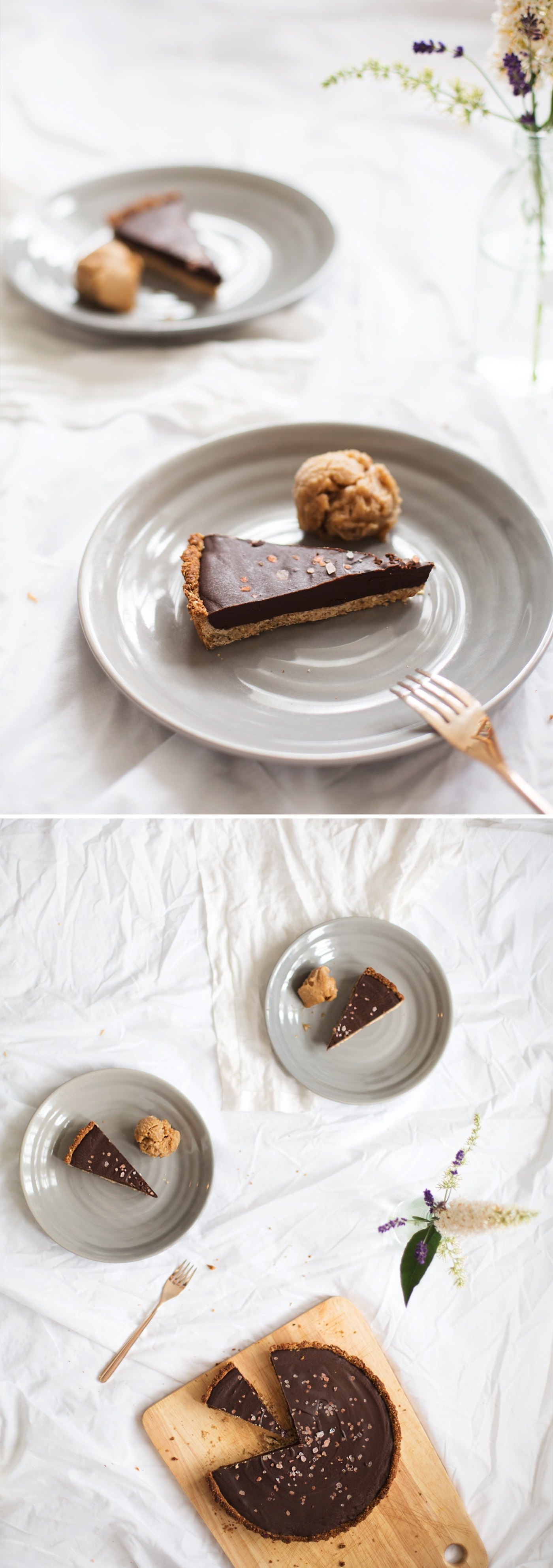 easy gluten free & vegan chocolate dessert