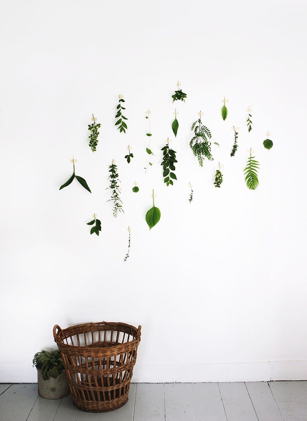 foliage wall | the lovely drawer | interior decor copy