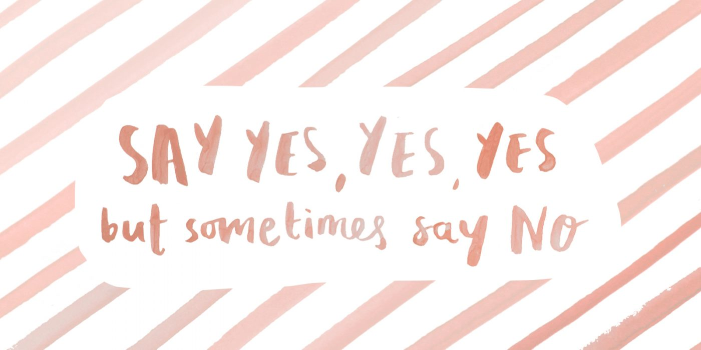 say yes wallpaper