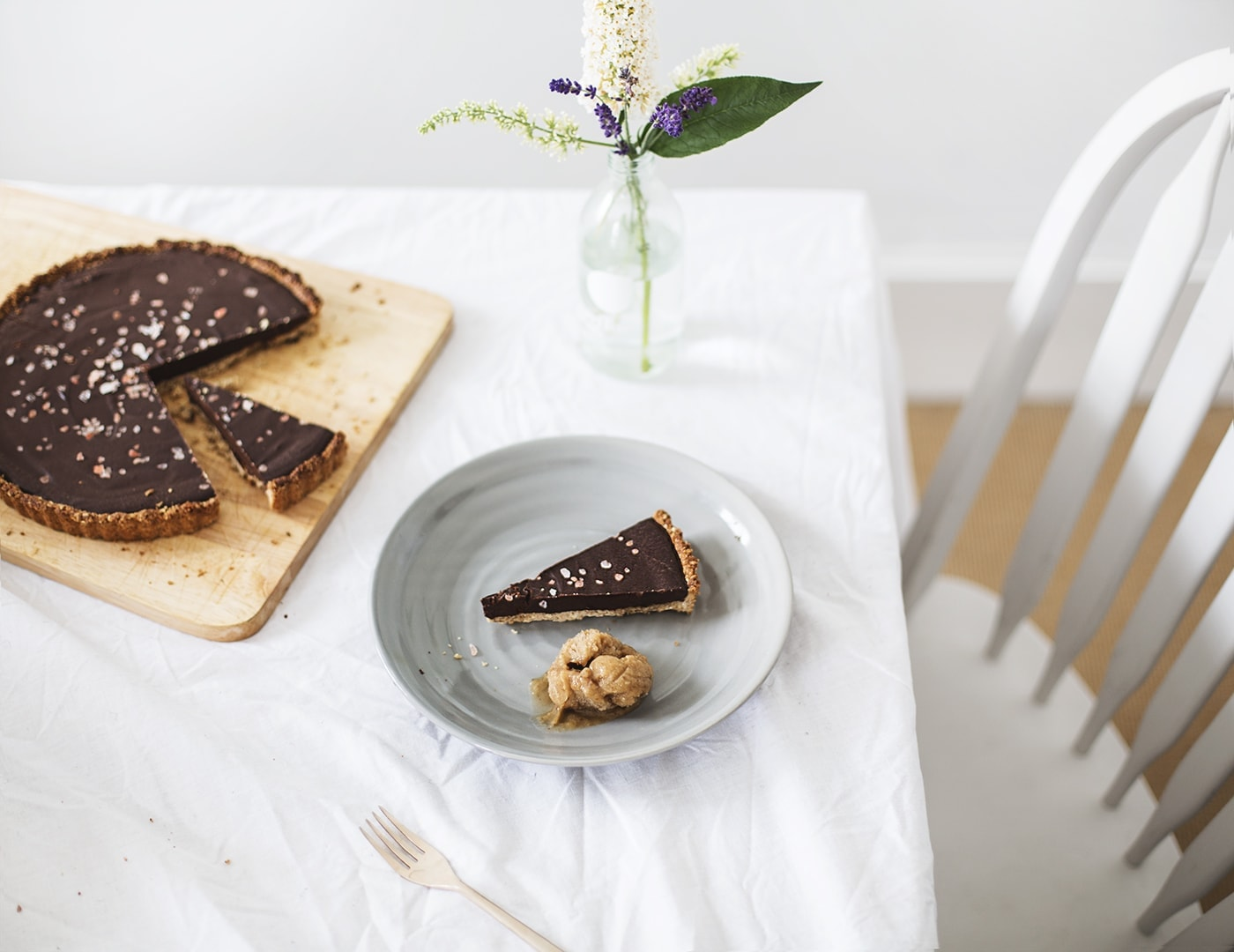 vegan gluten free chocolate tart recipe