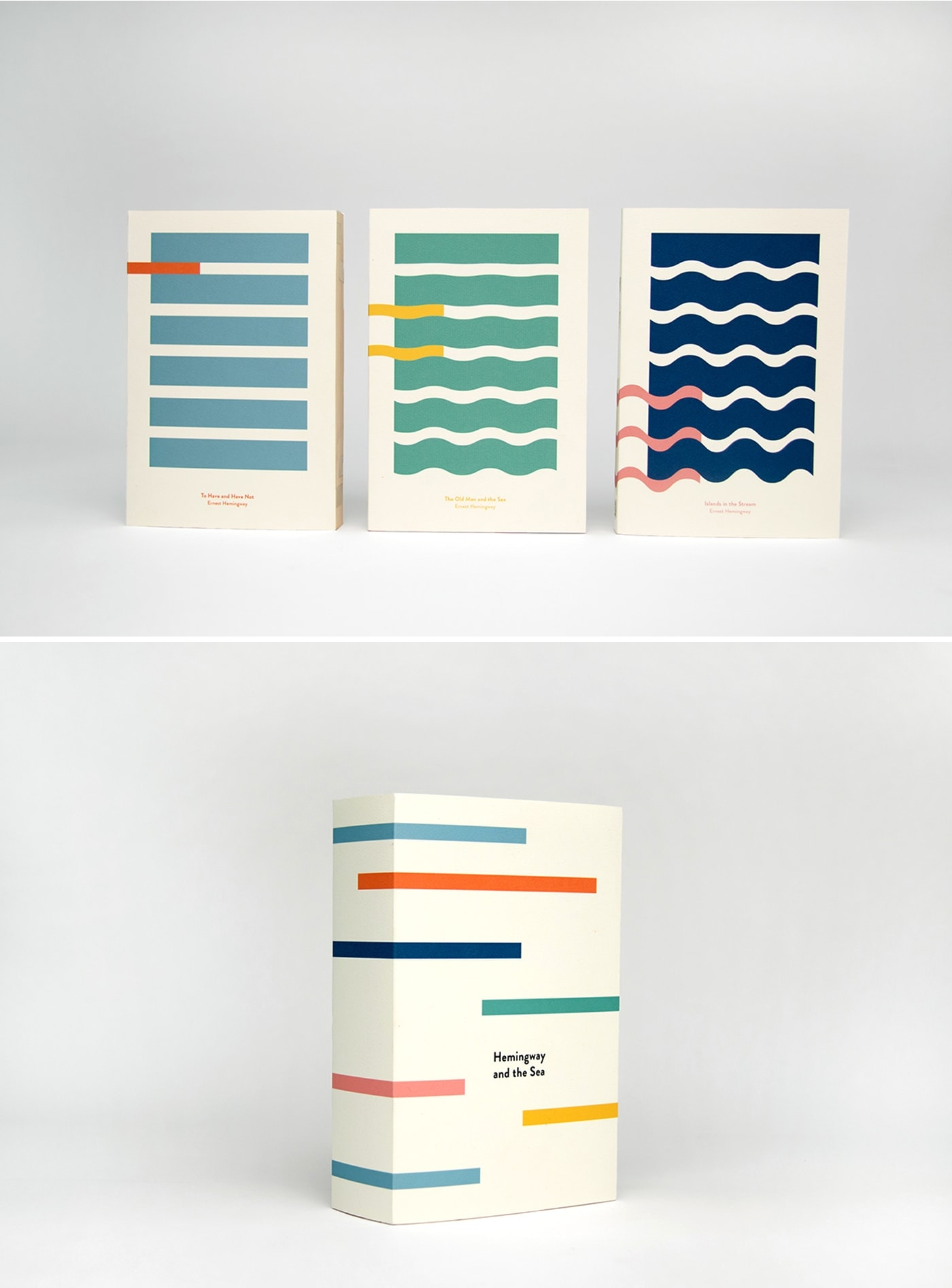 hemmingway and the sea book covers