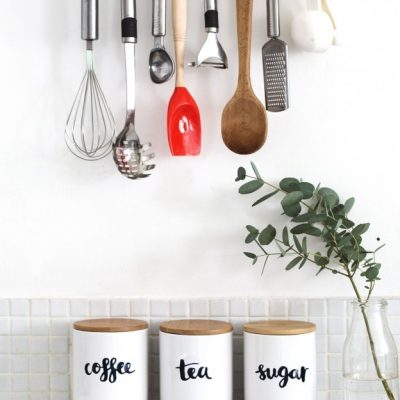 Personalised kitchen storage