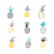 pineapple print 2