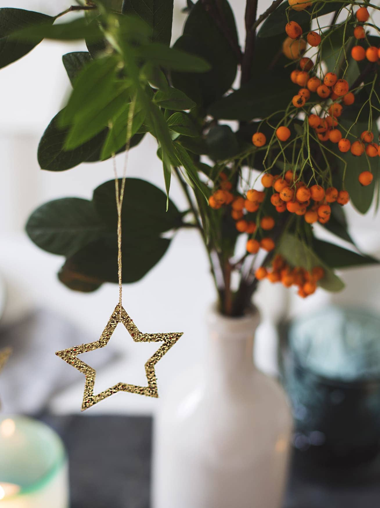 12 styled days of Christmas with West Elm | Christmas tables