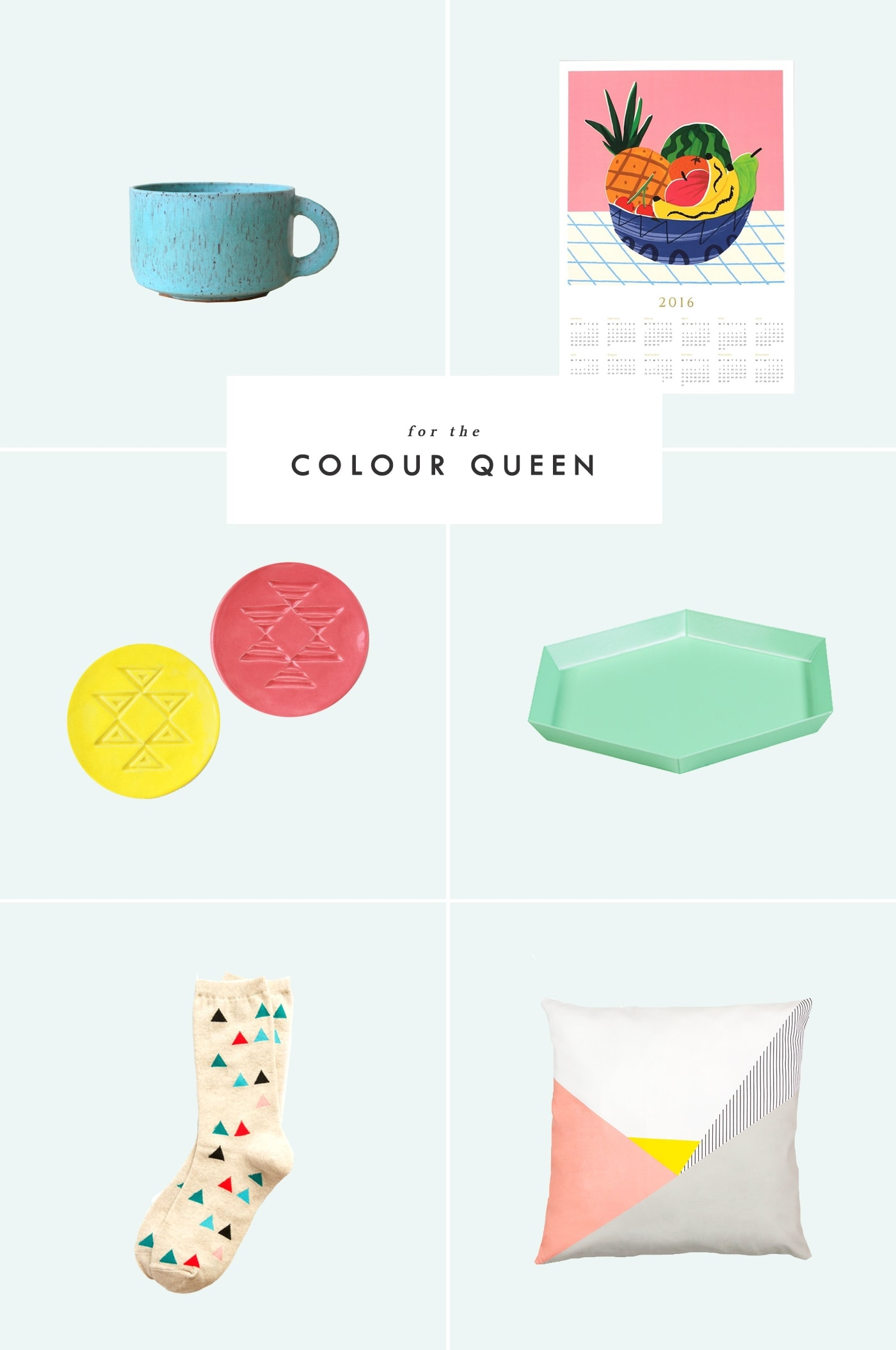 Holiday gift guide for the colour queen