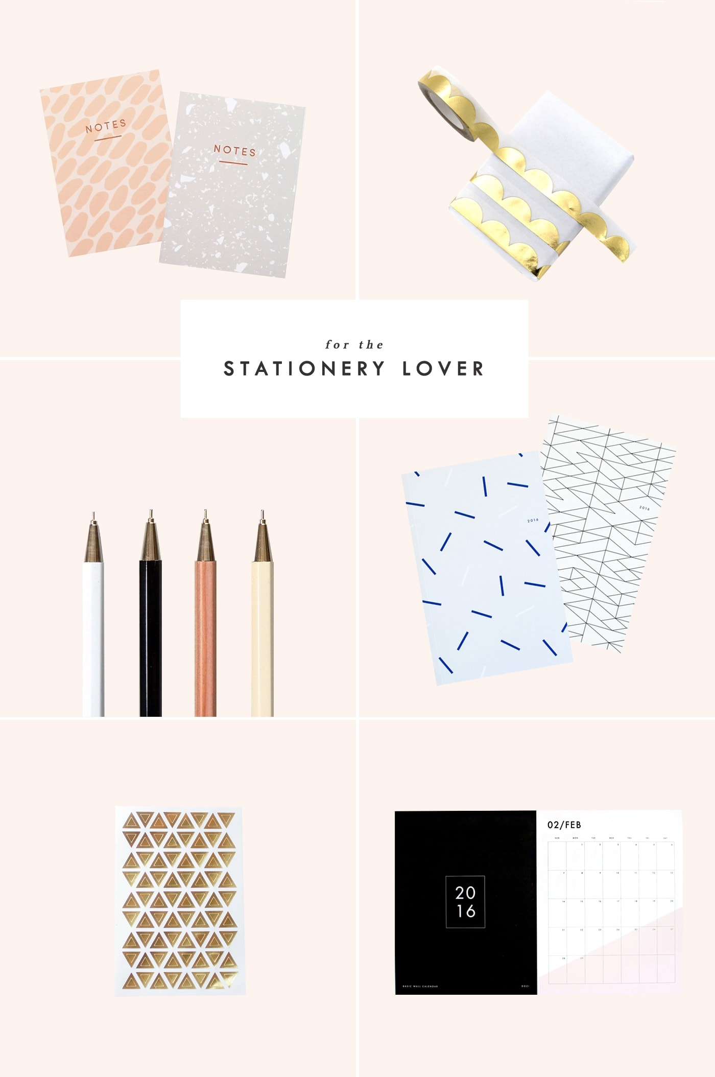 Holiday gift guide for the stationery lover
