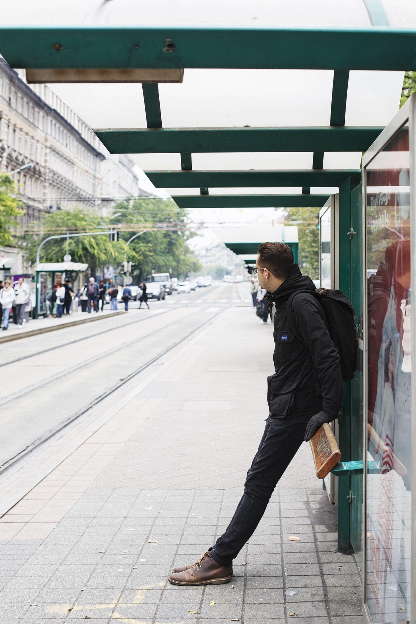 budapest tram line   the lovely drawer