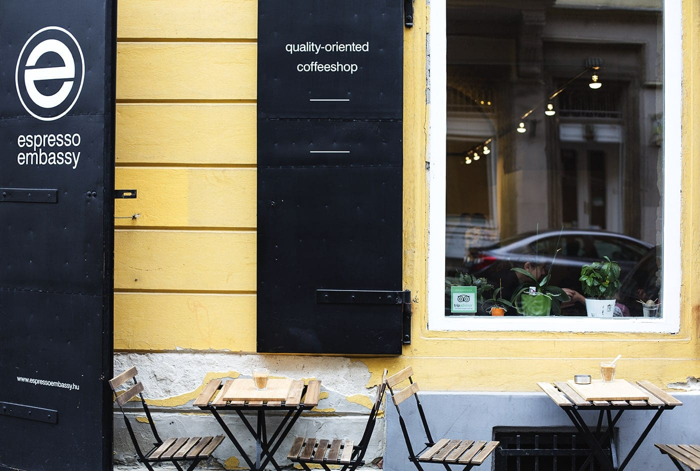 espresso embassy budapest | the lovely drawer