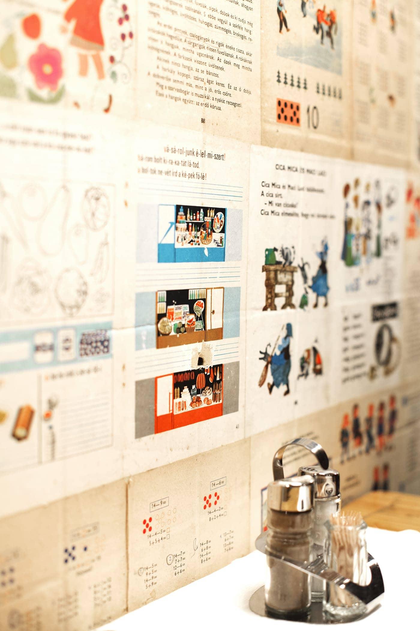 iskola wallpaper budapest   the lovely drawer