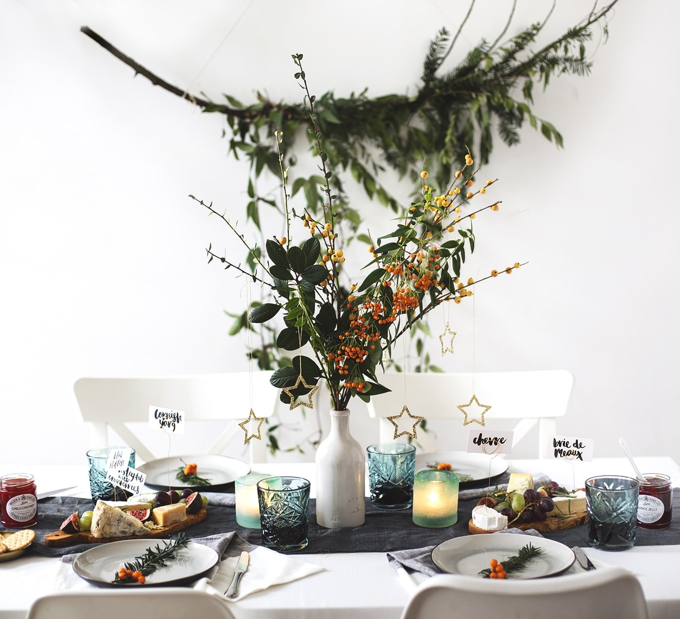 West Elm Christmas.12 Styled Days Of Christmas Day 1 The Lovely Drawer