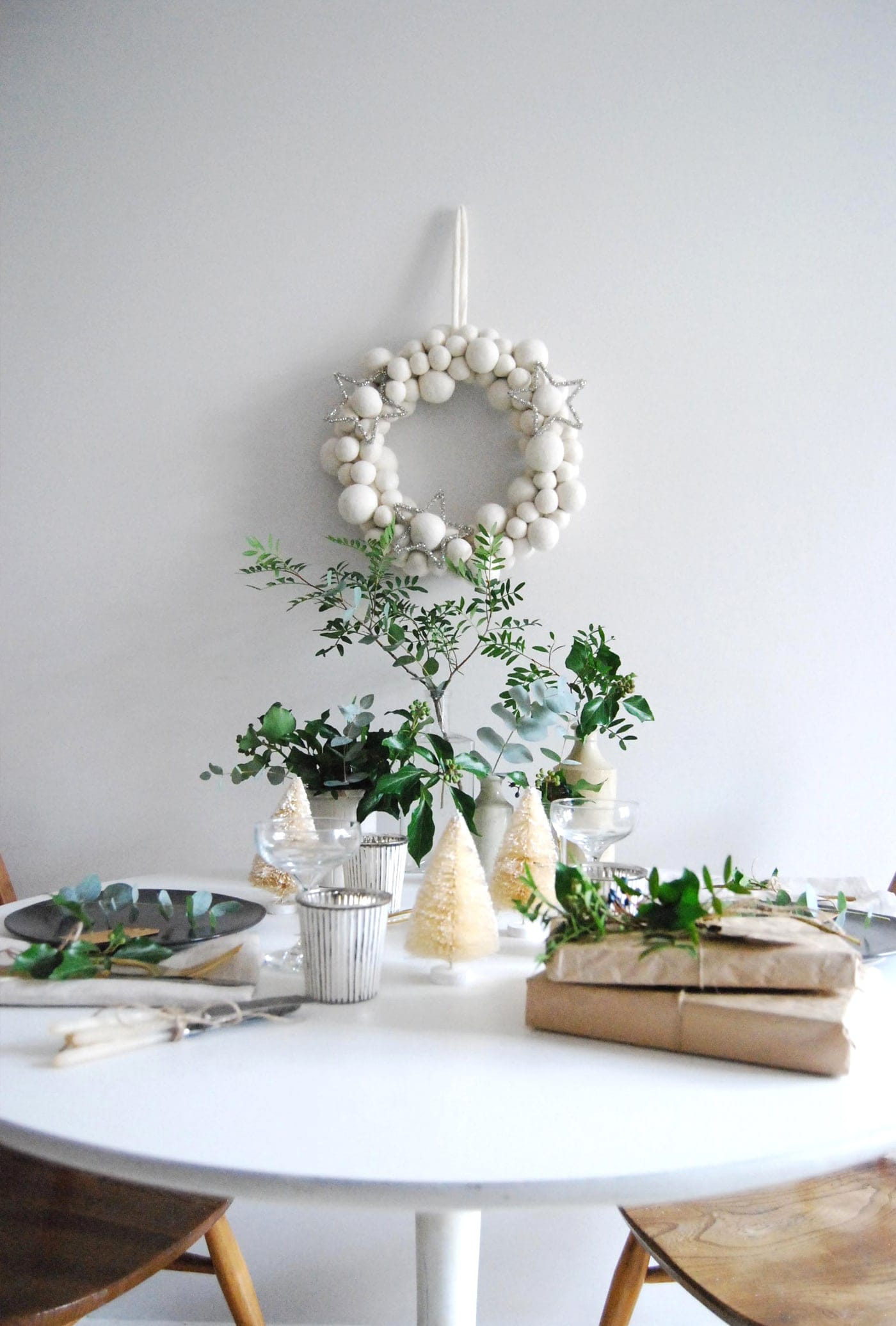 12 styled days of Christmas with West Elm | Cate St Hill | Christmas table top