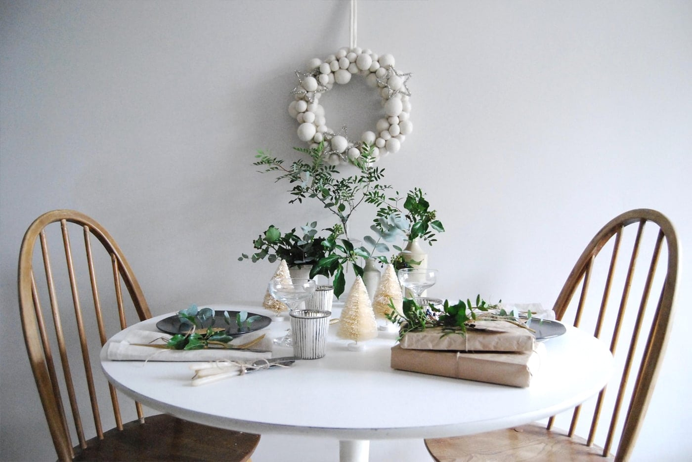 12 styled days of Christmas with West Elm | Cate St Hill | festive styled table decor