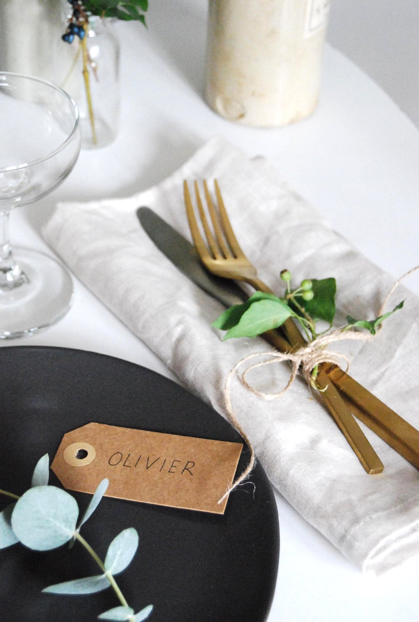 12 styled days of Christmas with West Elm | Cate St Hill | festive styled table settings