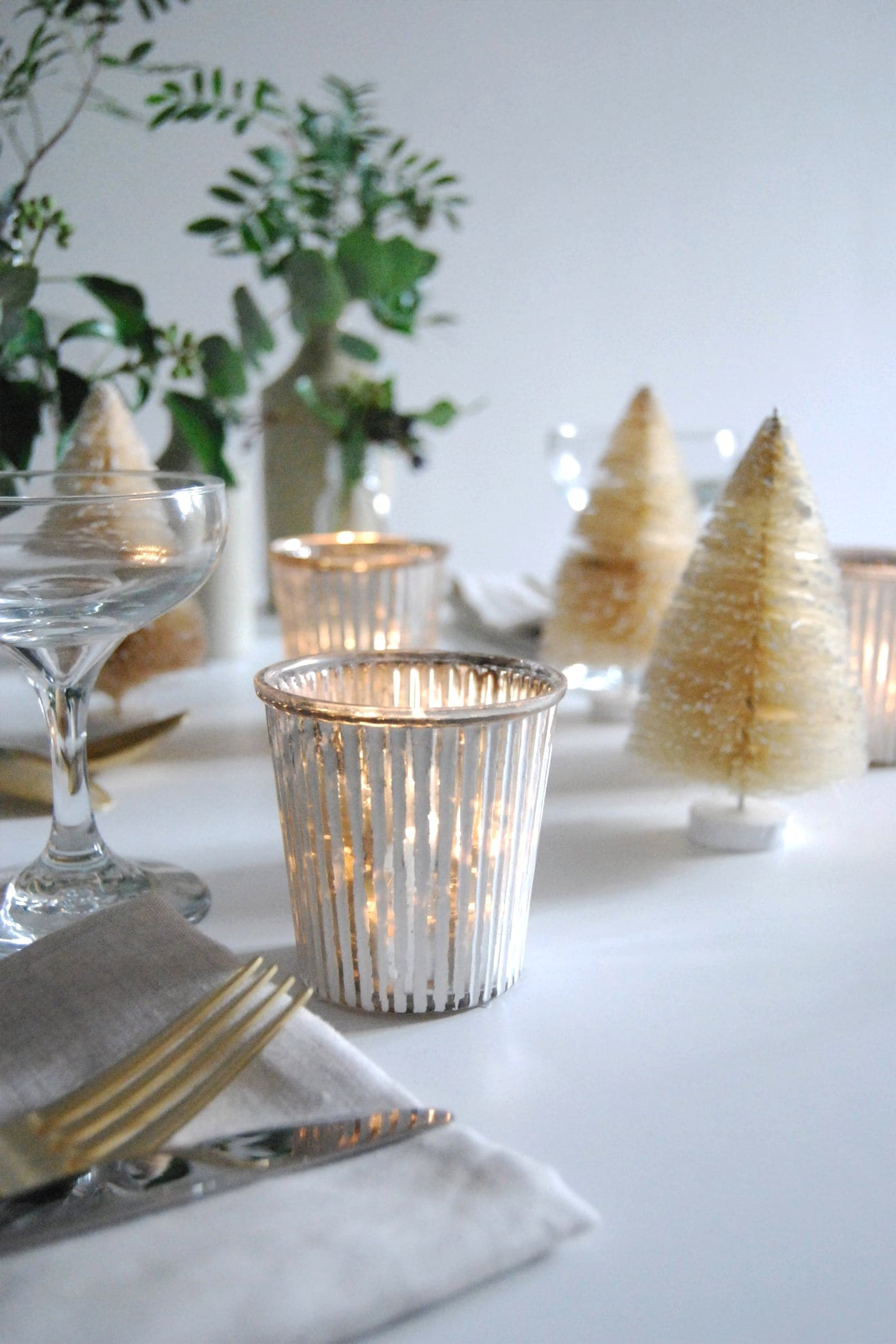 12 styled days of Christmas with West Elm | Cate St Hill | styled table