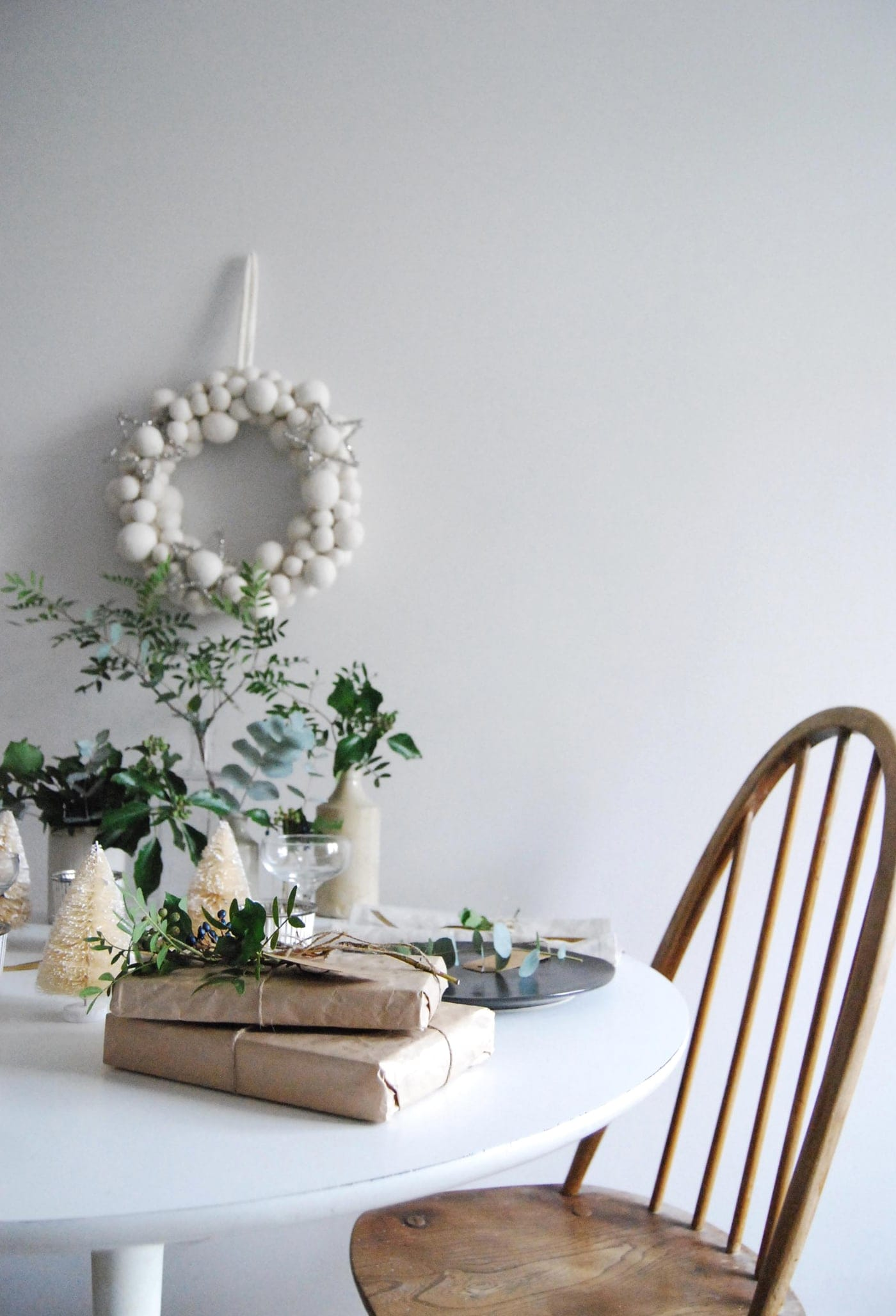 12 styled days of Christmas with West Elm | Cate St Hill | table decor