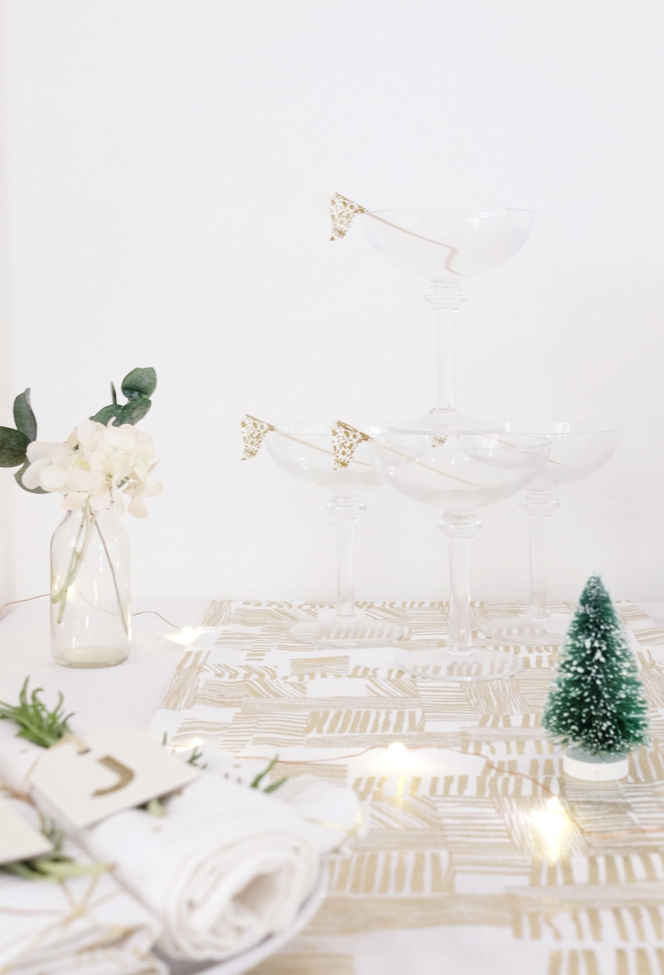 12 styled days of Christmas with West Elm | Christmas afternoon tea | gathered cheer